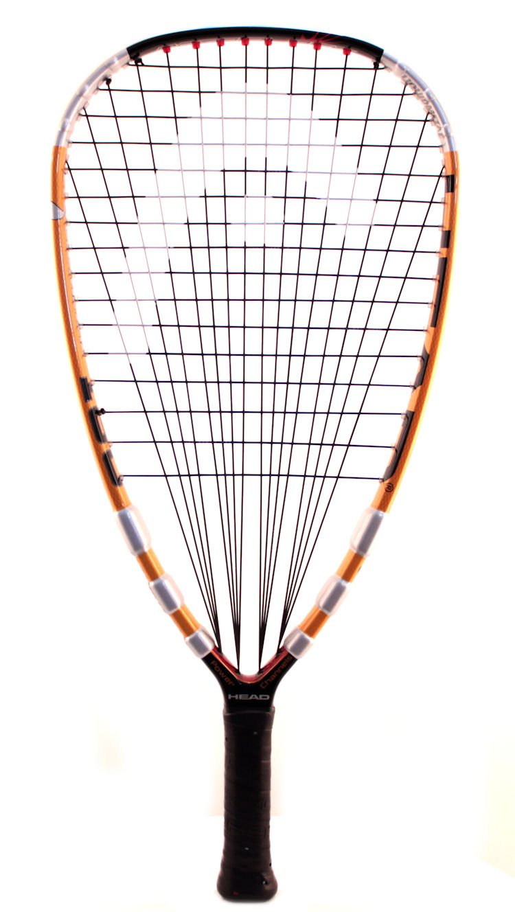 Head Liquid Metal 180 Racquetball Racquet, (SS) 3 5/8'' Grip