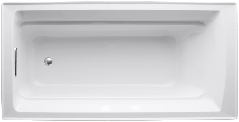 kohler k 1125 0 archer 6 foot bath white recessed bathtubs kohler k 1125 0 archer 6 foot bath white recessed bathtubs amazon com