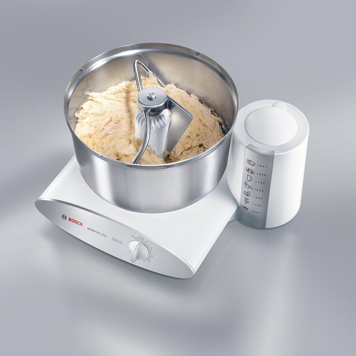 Amazon De Bosch Mum6n21 Kuchenmaschine Mum6 1000 Watt Weiss