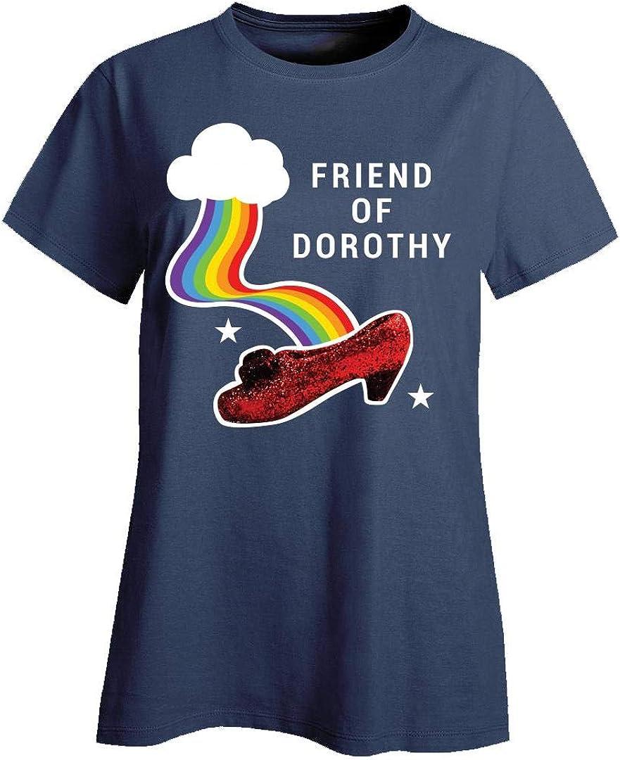 Hoodie Ruby Slipper Friends of Dorothy Rainbow