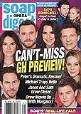 Soap Opera Digest Magazine - July 30, 2018 - Wes Ramsey, Elizabeth Hendrickson, Billy Miller, Kelly Monaco, Steve Burton, Chloe Lanier & Chad Duell (General Hospital)