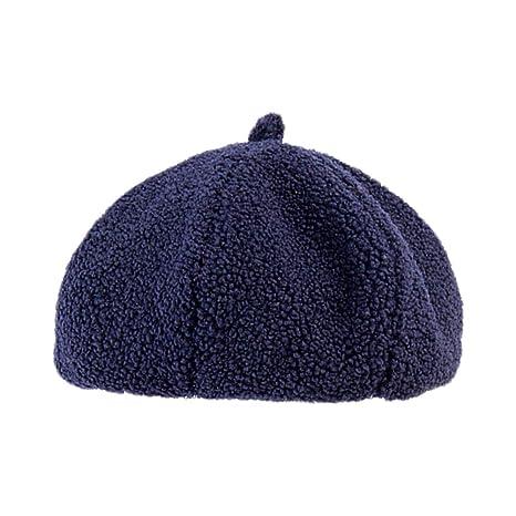 Scrox 1x Hombre Mujer Sombreros Gorras Boinas Moda Vintage Flat Cap Casual Unisex Otoño Invierno Casual