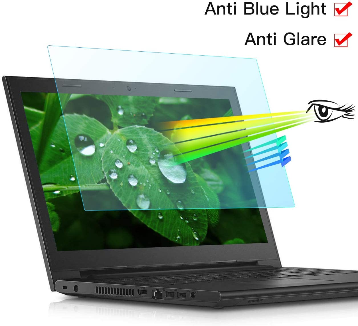 "11.6"" Anti Glare Anti Blue Light Laptop Screen Protector-Eye Protection Filter for All(HP/DELL/Asus/Acer/Sony/Samsung/Lenovo/Toshiba) 11.6"" 16:9 Laptop,1 PCS(11.6S)"