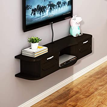 Mueble TV de Pared Estante de la Pared Estante Flotante Router de ...