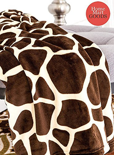 (Home Must Haves Brown Ultra Soft Micro Plush Luxurious Flannel Fur All Season Premium Bed Blanket (Twin 75