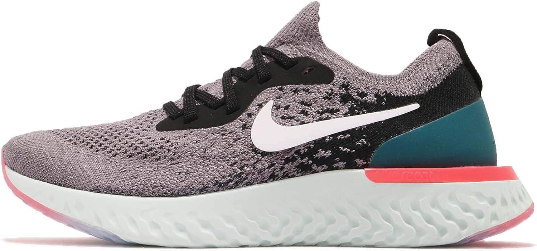 B07G61KVBX Nike Women\'s WMNS Epic React Flyknit, Gunsmoke/White-Black, 7 US 61r2BCr3vEhL.UL1500_