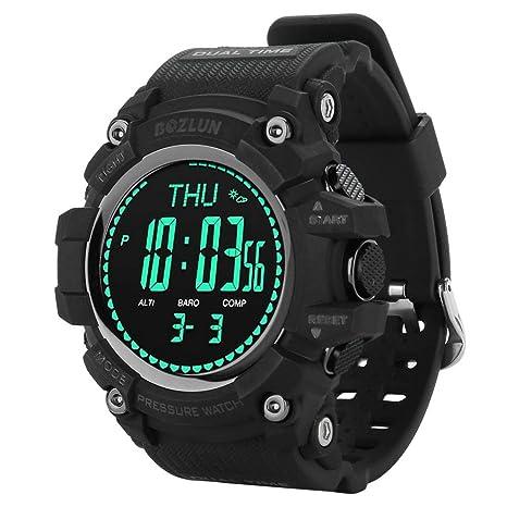VBESTLIFE Reloj Inteligente de Escalada Pulsera Deportivo para Aventura con GPS Incorporado Tiene la Función de