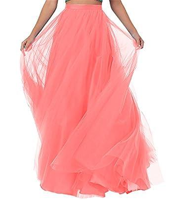 CoutureBridal - Falda - Trapecio - para Mujer Rosa XXXL: Amazon.es ...