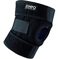 EMPO Attelle de Genou Support Course Jogging Exercice Ajustable Unisexe