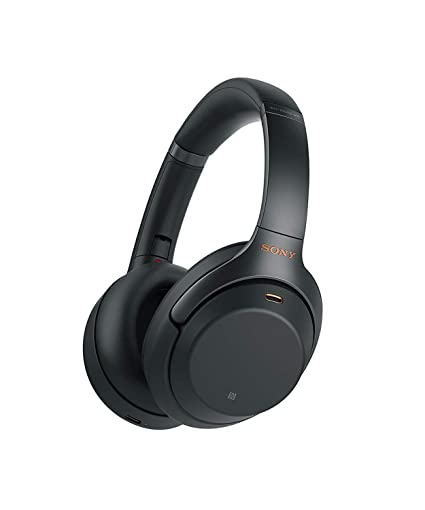 8763329a15b Sony Noise Cancelling Headphones WH1000XM3: Wireless Bluetooth Over the Ear  Headphones with Mic and Alexa