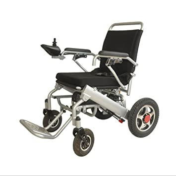 Silla de ruedas eléctrica, portátil Plegable: Amazon.es ...