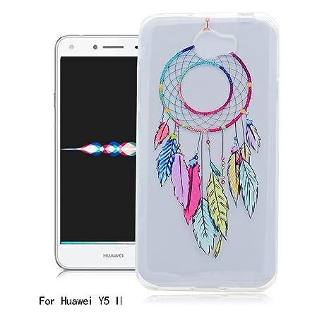Funda Huawei Y5 II, Ronger Carcasa Transparente Suave Estilo ...