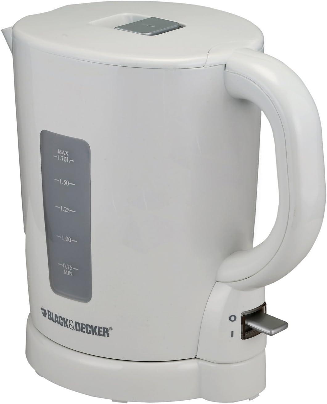Black and Decker JC250 220 to 240-volt Electric Tea Kettle, 1.7-Liter