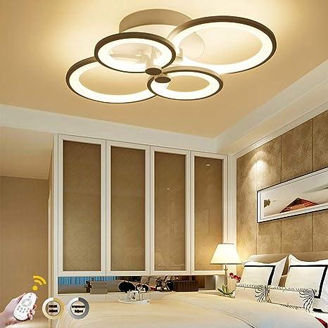 LED Lámpara de techo moderna,ONLT LED Iluminación de techo Baño Cocina Dormitorio Balcón Corredor Oficina Comedor Sala de Estar,Iluminación colgante ...