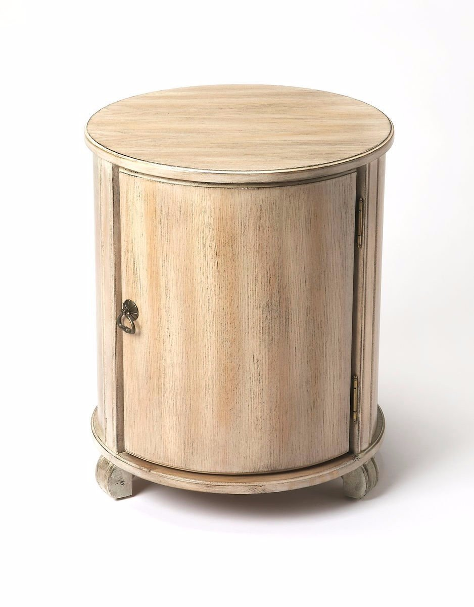 Ambiant Transitional DRUM TABLE Gray