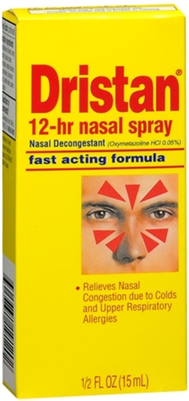 Dristan 12-Hour Nasal Spray 0.50 oz (Pack of 10) by Pfizer Consumer Heal