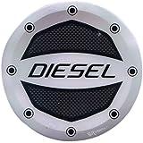 Ramanta Car Decal Diesel Sticker for Honda WRV (Black)