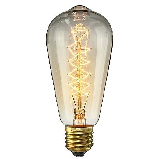 R 1 x E27 ST64 25W Vite Vintage Lampadina Retro filamento vecchio stile Edison Incandescente 220V SODIAL