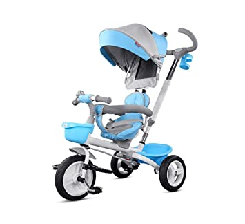 DLDL Bicicleta Plegable del Carro del bebé del Triciclo ...