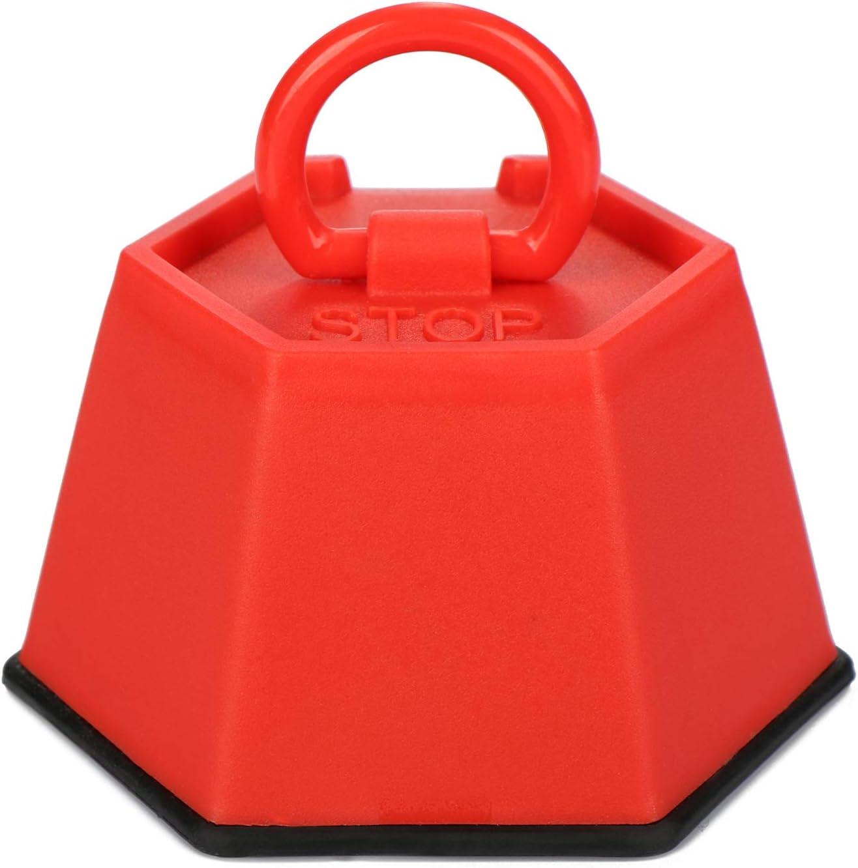 com-four/® 3X fermaporta in Vari Colori Porta dingresso fermaporta per Porta del seminterrato Porta Pesante Bagno e Soggiorno