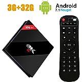 ESTGOUK H96 Pro 3GB/32GB Android 7.1 Smart TV Box Amlogic S912 Octa-Core 64bit HDMI 4K Mini PC Box 2.4GHz/5.0GHz Dual-band WIFI Bluetooth 4.1 Lan 1000M