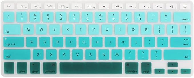 Funut - Funda de silicona para teclado antipolvo, lavable ...