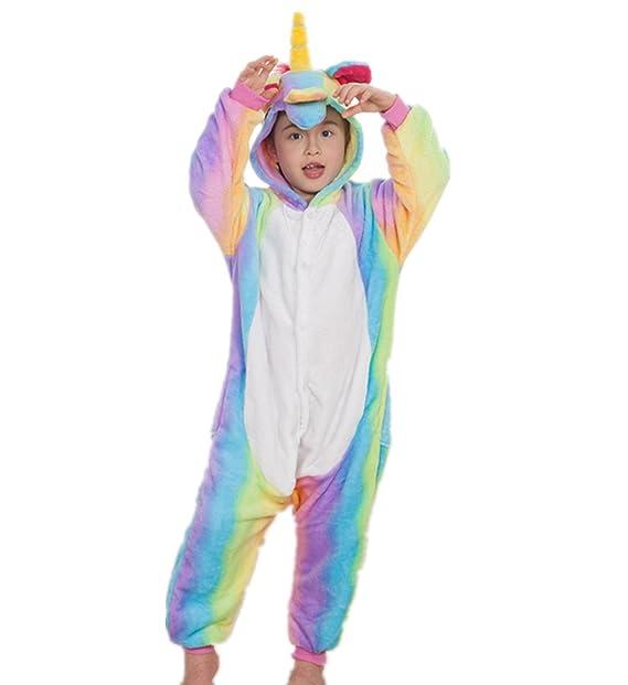 Misslight pijama o disfraz de unicornio unisex para niño o adulto: Amazon.es: Ropa y accesorios