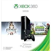 Xbox360e 500gb Cnsl 1p Fbl Anny/Plnt-Vs-Zom En/Es