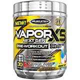 Cheap MuscleTech Performance Series Vapor X5, Next Gen Pre-Workout Powder, Icy Rocket Freeze, 30 Servings