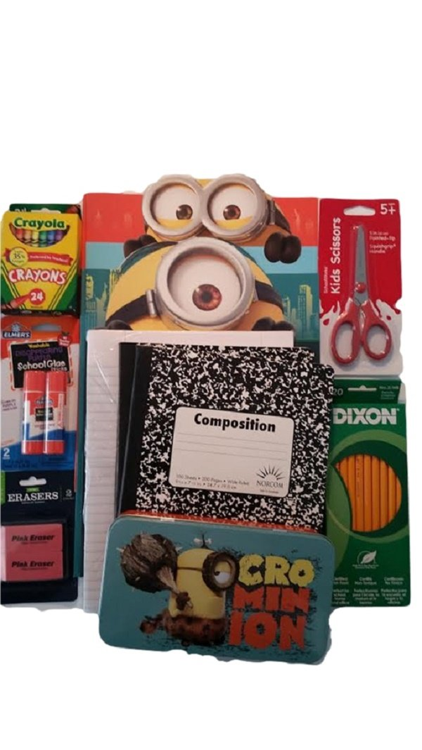 Despicable Me 2 Back to School Classroom Supplies