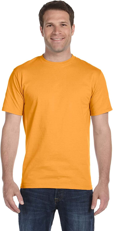 4-Pack Hanes Mens TAGLESS ComfortSoft Dyed Crewneck T-Shirt Assorted Best Seller