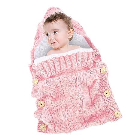 Hellohouse - Manta para bebé recién nacido, saco de dormir, saco de dormir para bebé de lana ...