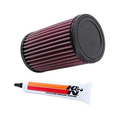 K&N Engine Air Filter: High Performance, Premium, Powersport Air Filter: 1999-2012 YAMAHA (YFM400, YFM250 Big Bear, YFM250 Bruin, YFM400, YFM250 Bear Tracker, YFM400 Big Bear) YA-4001: Automotive [5Bkhe1508372]