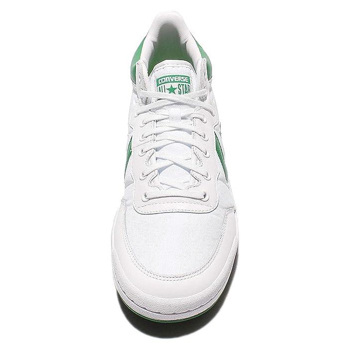 4e12ab3edf36c1 Converse Fastbreak 83 Mid White Green White  Amazon.co.uk  Shoes   Bags