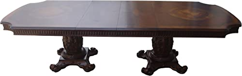 ACME Vendome Dining Table w Double Pedestal