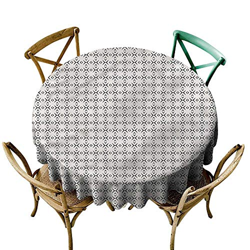 Tablecloth Geometric Geometric Lines Great for Party & More ()