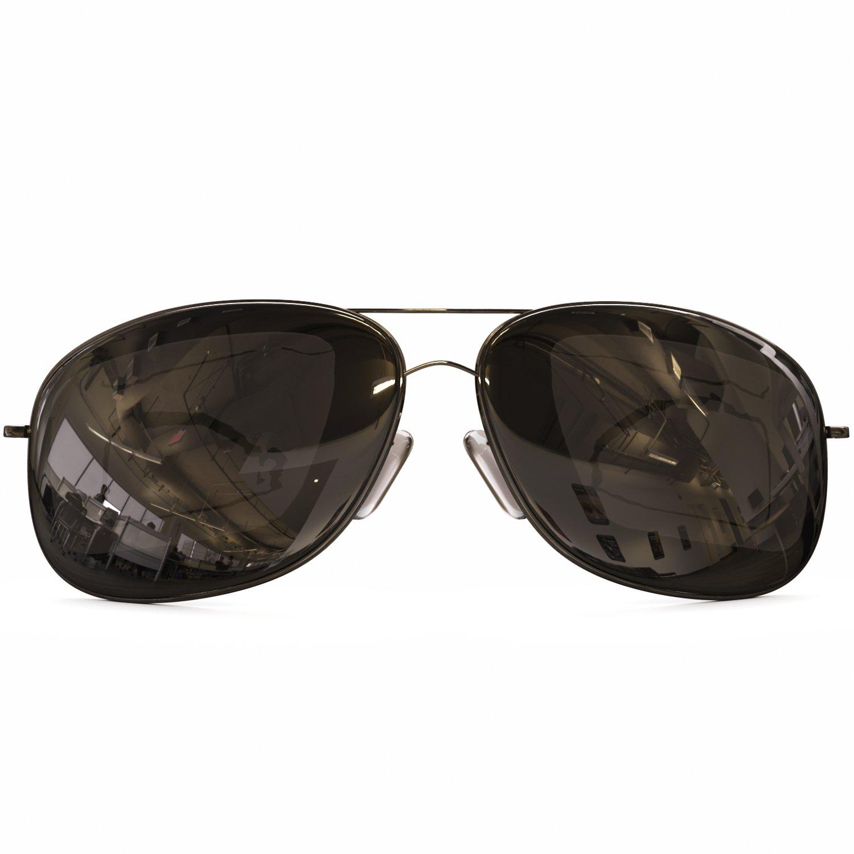 2327cb102e4 Amazon.com   Classic Aviator Sunglasses Polarized - Best Glasses for Women and  Men - 400 UVA Uv + UVB Protection From Sun - Block Reflections + Scratch ...