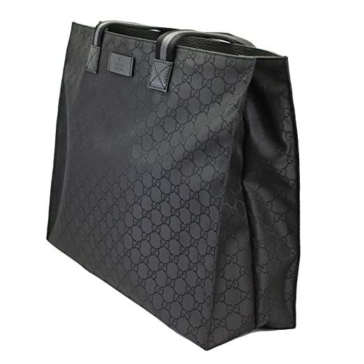 7ffd10800e6e Amazon.com  Gucci Men s Black Nylon Tote Bag 449176 G1xhn  Clothing