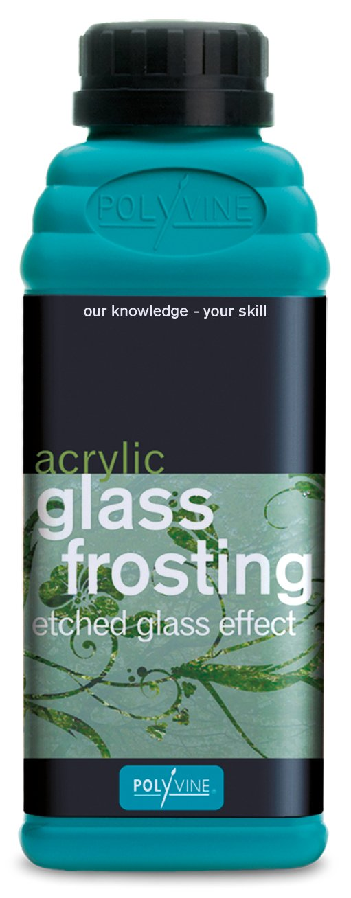 Polyvine Acrylic Glass Frosting for Etched Glass Effect 500ml