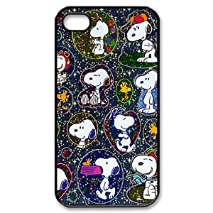 FOR Iphone 4 4S case cover -(DXJ PHONE CASE)-Love Snoopy-PATTERN 9