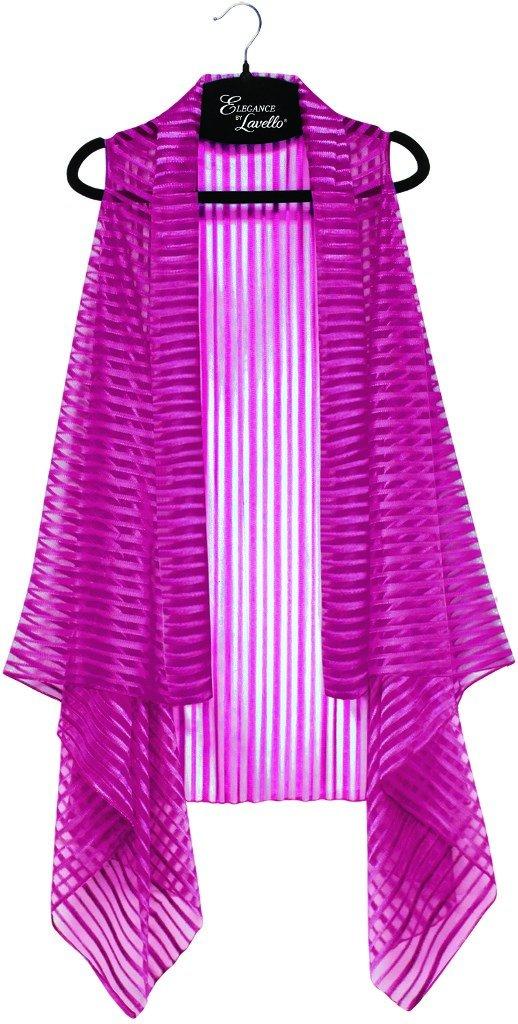 Ruby Stripe DM Merchandising ELVEST-RUB Lavello Sheer Designer Vest