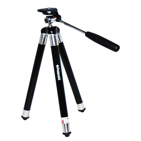 EL TRÍPODE POLAROID DE 42 VIAJES INCLUYE:  estuche para cámaras digitales/videocámaras