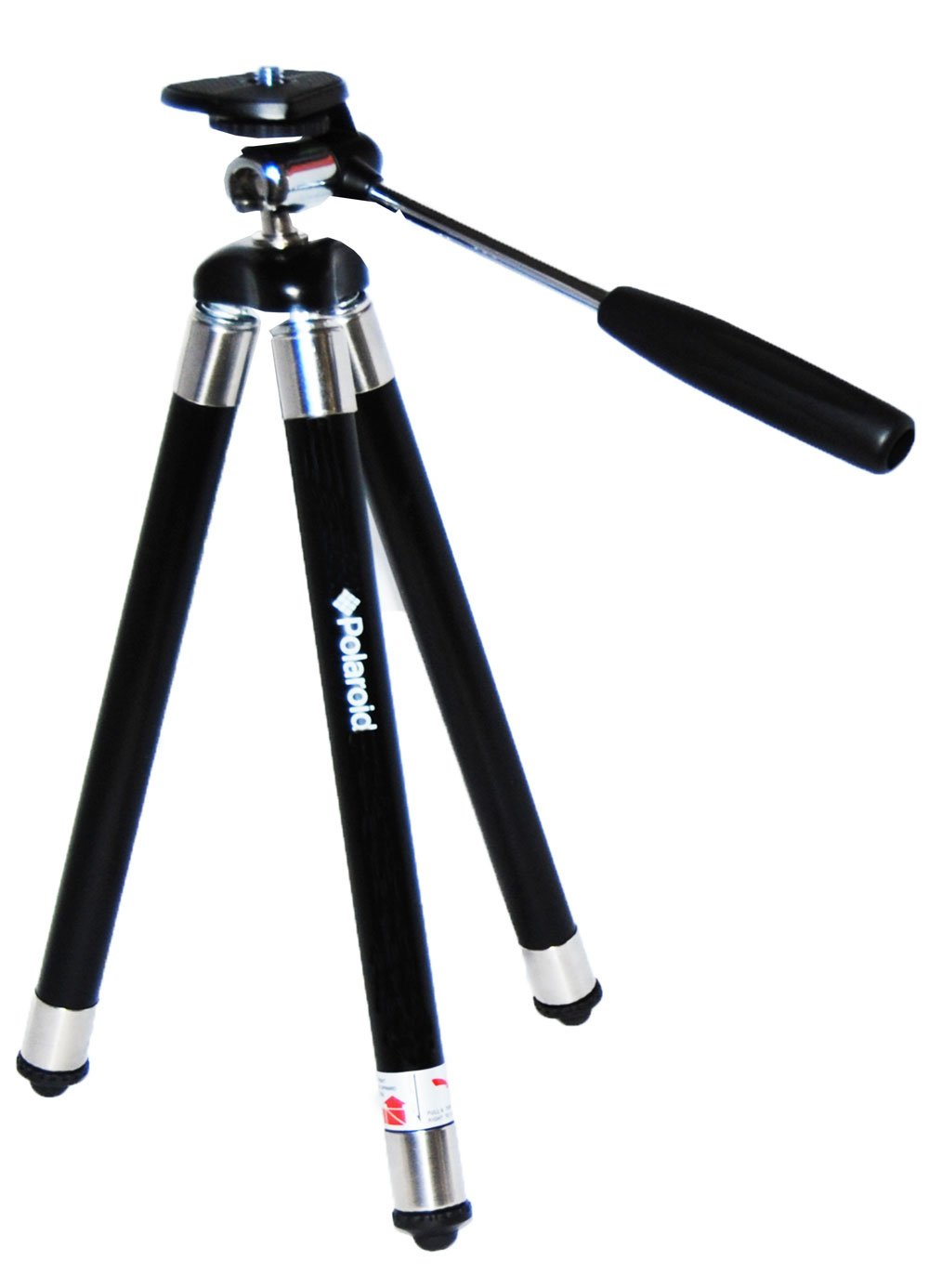 Polaroid Snap and Wrap Flexi Tripod with 360° Rotating Ball Head - Flexible Vertebrae-Like Legs & Rubberized Feet for Endless Conforming Ability & Sure Grip PLTRISWP