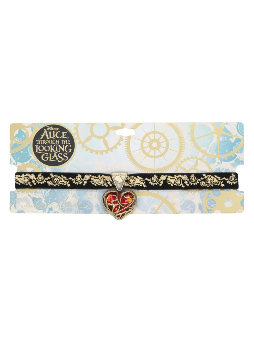 Disney Alice Through The Looking Glass Heart Choker by Disney