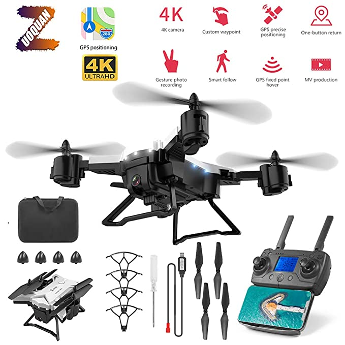 ZUOQUAN GPS Drone, 5G Estabilización De Imagen Profesional, Camara ...