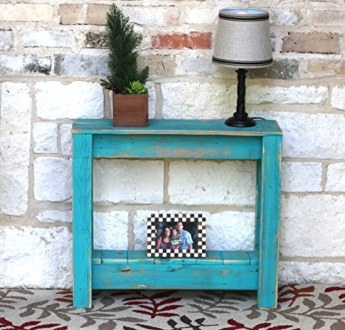 Turquoise End Table Review