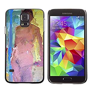 Exotic-Star ( Naked Woman Act Nude Paint ) Fundas Cover Cubre Hard Case Cover para SAMSUNG Galaxy S5 V / i9600 / SM-G900F / SM-G900M / SM-G900A / SM-G900T / SM-G900W8