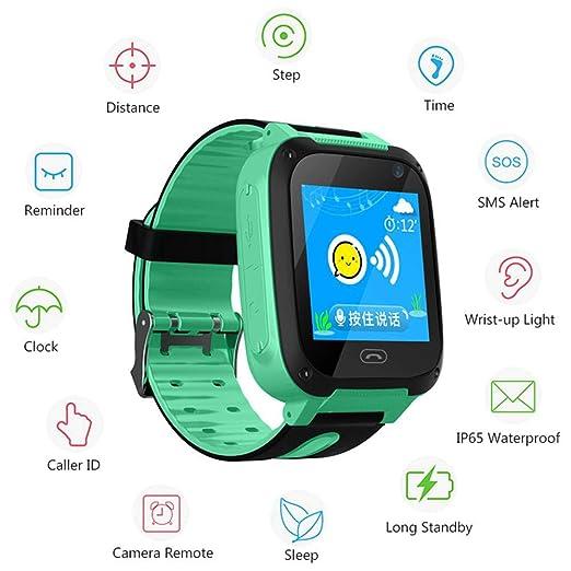 FOONEE Smartwatch para Niños con Rastreador GPS, Reloj ...