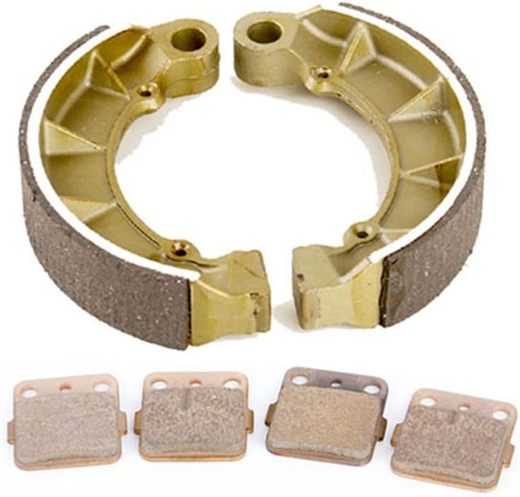 Brake Pads and Rear Brake Shoes 2013 Fits Honda Foreman 500 TRX500FPE 4x4 Front Rear