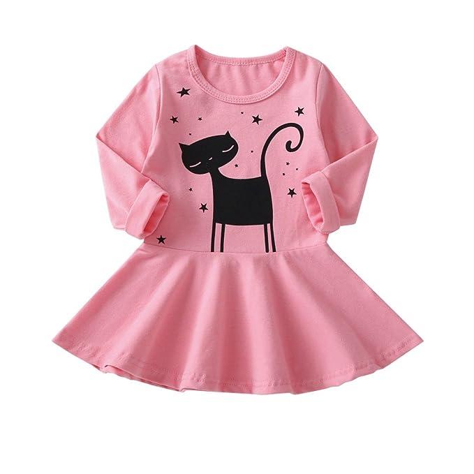 Amazon.com: Clearance Venta Vestidos para niñas pequeñas ...